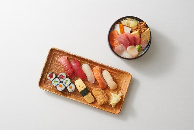 おつな寿司 カウンター席