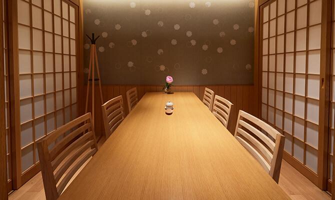 おつな寿司 個室